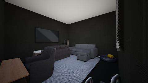admin - Modern - Living room  - by A7ma12