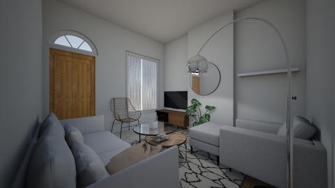 Modern Scandi living room - Modern - Living room  - by brooksj646