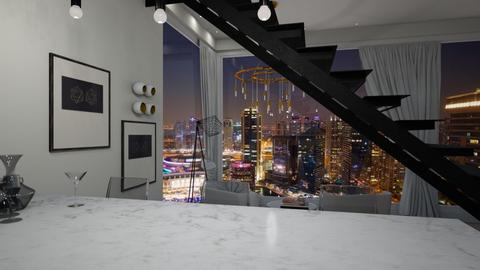 Bar appartement  - Modern - Living room - by Farah Kh