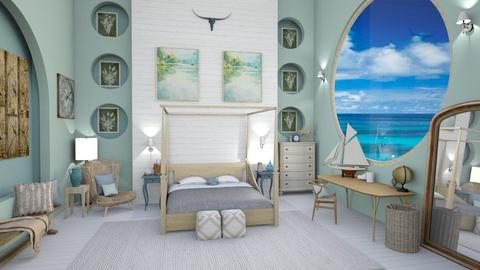 oceanic room - Bedroom  - by hmm22