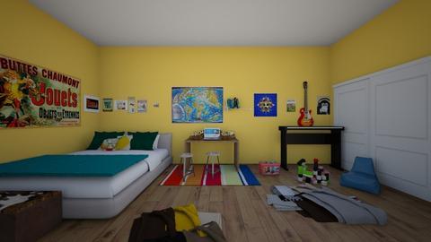 Davis Bedroom - Bedroom  - by paytono