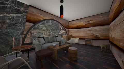 rustic cabin - Rustic - Living room - by HARPERANTIKAINEN