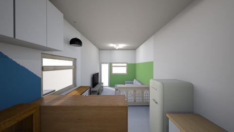 new house - by Demi Wu