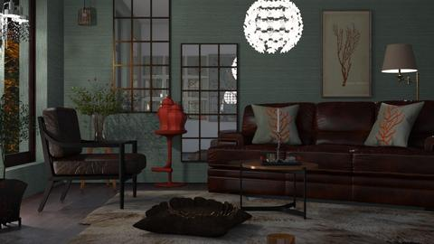 M_Coral - Living room  - by milyca8