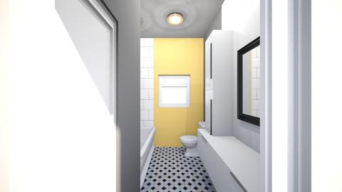 bathroom white sm mr - Bathroom  - by micheleweissglaza