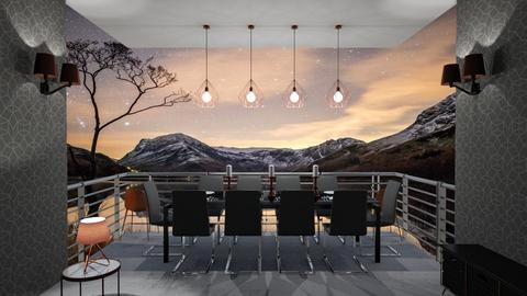Copper Canyon - Rustic - Dining room  - by logz mcw