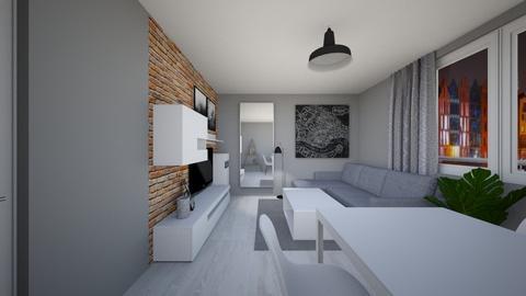 Living - Modern - Living room  - by agnieszka_giez