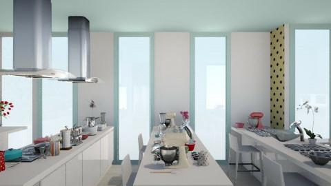 PROJETO 003 - Retro - Kitchen  - by Anna Karine