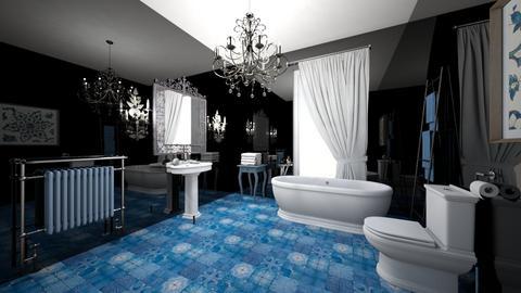 Bath with Pola Negri - Bathroom  - by Marta Perkowska