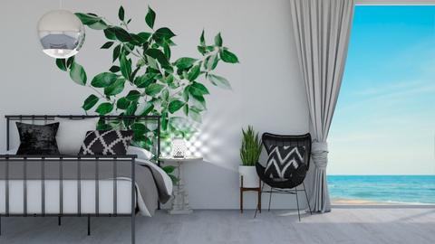 wall plant bedroom - Bedroom  - by ange06