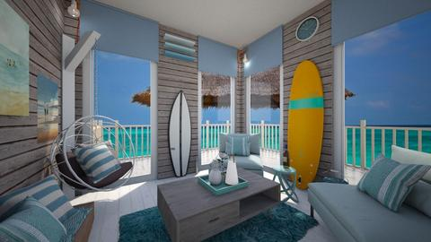 Surf living - Living room - by Gena1310