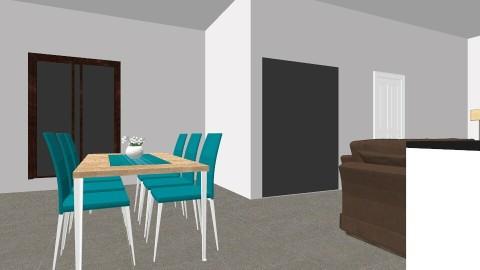 Open Plan Ground V3 - Vintage - Living room  - by Natasha Batsford