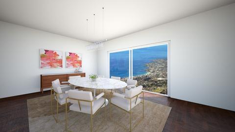 DWR Kirsten  - Dining room - by mikaelawilkins