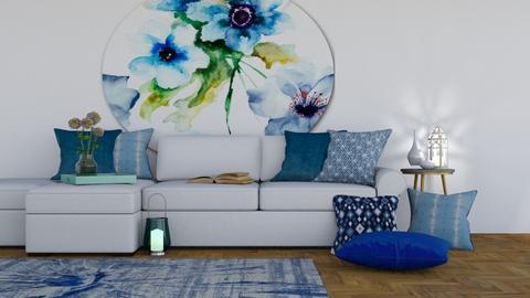 Calm - Living room - by chocolatedonut71