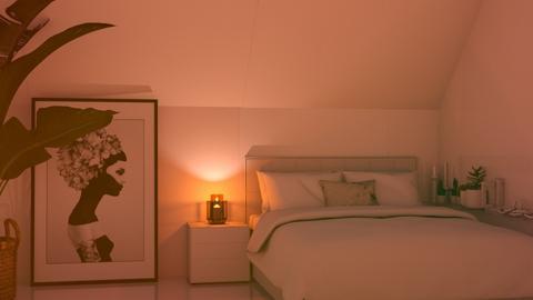 Cozy Corner Bedroom - Bedroom  - by KittyKat28