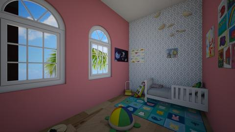 toddler room - Modern - Kids room - by nuttymegz49