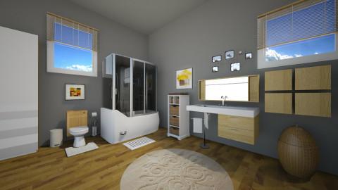 take your time - Modern - Bathroom  - by vesperart