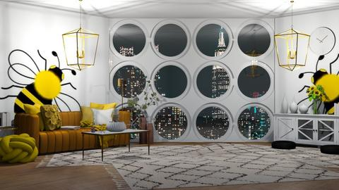 Bee Room - Glamour - Living room  - by Twice and Bp