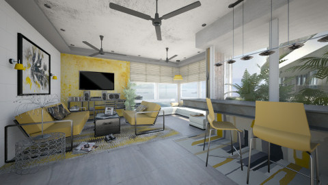 The Interlace Livingroom - Living room  - by starsector