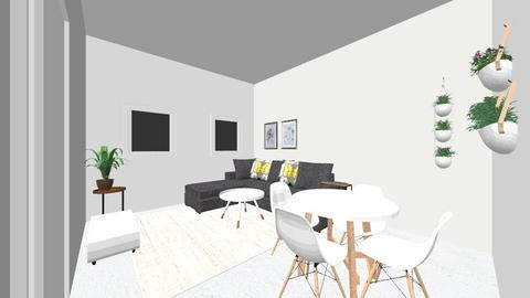 orteliusstraat 147H Goed - Living room  - by timwierks