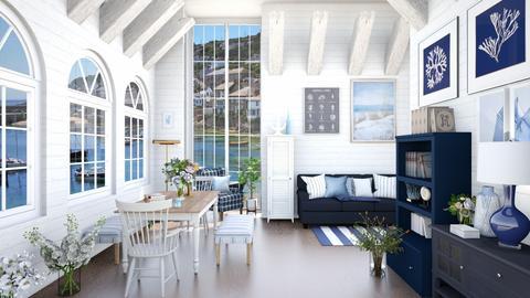 fishermans cabin - Rustic - Living room  - by Happyspaniel