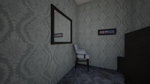 Paulina_Carrasco_p8 - Modern - Bedroom  - by HMS Students