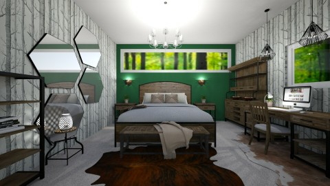 Forest Dreams - Rustic - Bedroom  - by millerfam