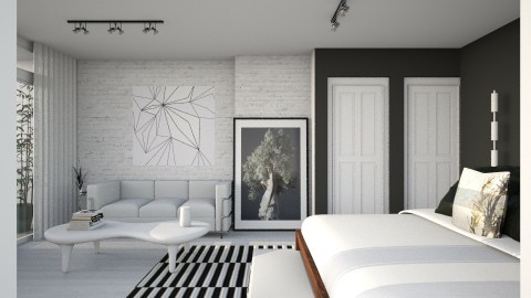 Bedroom redesign - Modern - Bedroom  - by laughterlines