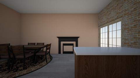 kitchen and dining room - Kitchen  - by lacydog2020