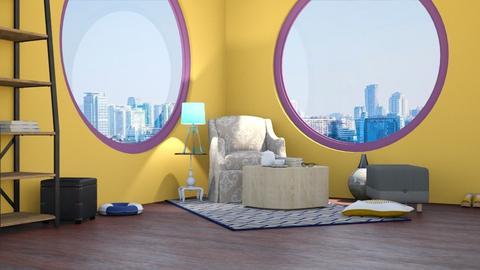 Apartment - Feminine - Living room  - by RODIO124
