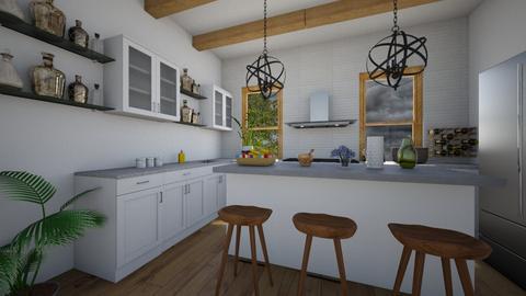 Farmhouse Kitchen - Country - Kitchen  - by nkanyezi