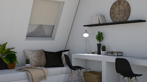 Boho inspired office - Office  - by thepanneledroom