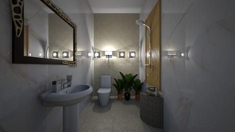 Simple bath - Bathroom  - by Archie Perez