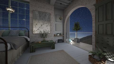 night - Bedroom  - by rasty