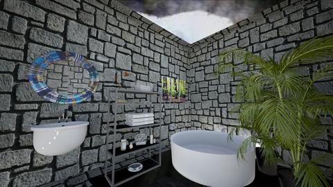 Jungle Bathroom - Modern - Bathroom  - by deleted_1609868595_bleeding star