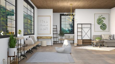 Quietude - Modern - Living room  - by LuluDesignStyle