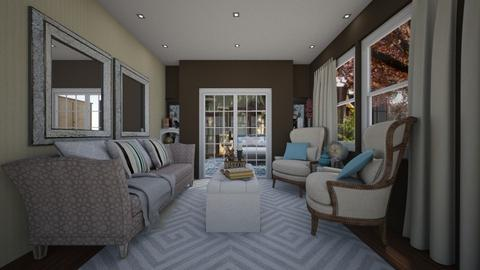 sophisticated living - Glamour - Living room  - by paluvica
