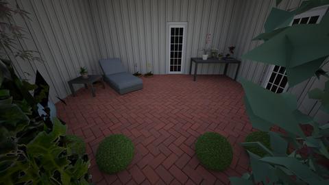 Conservatory - Garden - by tjkimzey