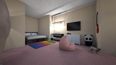 Liz Smith period 9 - Modern - Bedroom  - by lilg129class