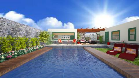 My Backyard 3 - Modern - Garden  - by Joao M Palla