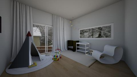 Claires Babys Room - Modern - Kids room  - by crazyA