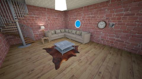 Seths room revamped  - Living room  - by stacey patterson