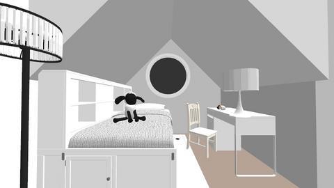 cheer the smallest sheep - Kids room  - by CrezyCrasz