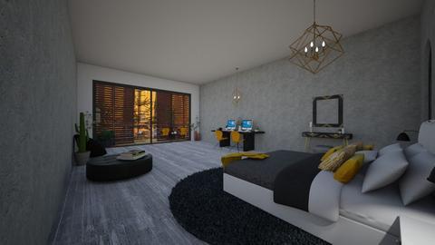 h o l i d a y_h o u s e - Modern - Bedroom  - by Marlisa Jansen