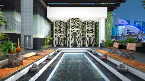 Oasis in Dubai - Modern - Garden  - by Ida Dzanovic