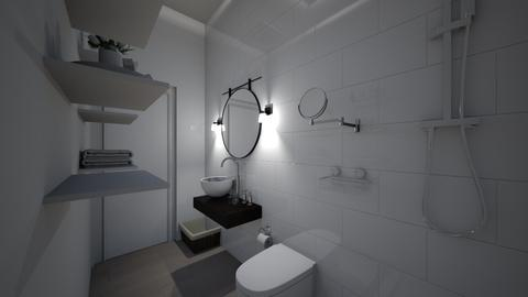 home bathroom view 1 - Minimal - by dindin01
