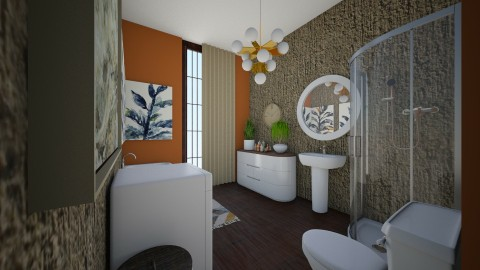 hhg - Eclectic - Bathroom  - by Ritus13