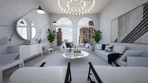 Light Loft - Living room  - by mrusso0
