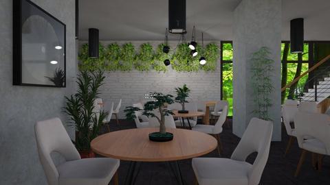 modern restaurant - Modern - Dining room - by jammuek