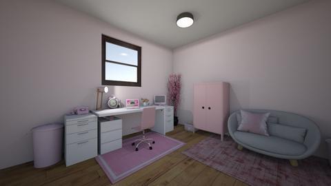 cute office - Feminine - Office - by elladesign